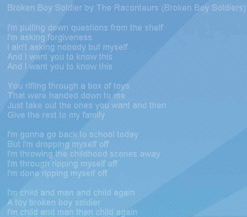 HUD Lyrics Gadget Screenshot